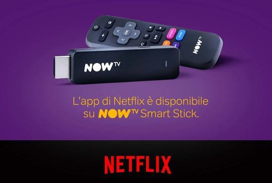 Netflix su Now TV
