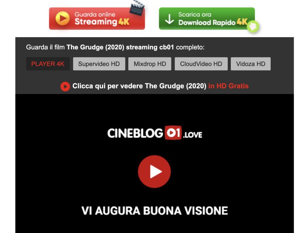 Come si scaricano i film da cineblog