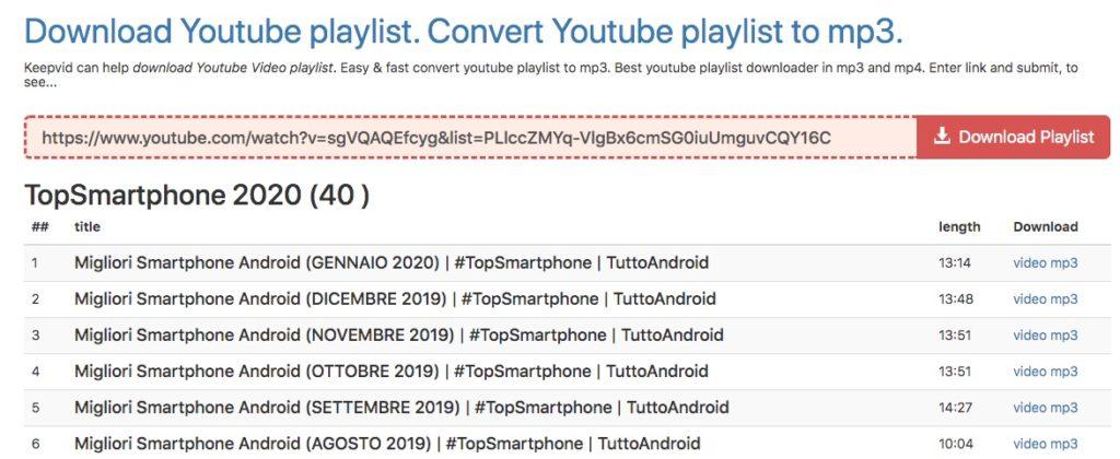La Soluzione Definitiva per Scaricare Playlist YouTube