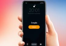 Abbassare suoneria sveglia iPhone