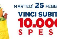 "Concorso Esselunga ""Vinci 10.000 spese"""