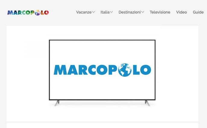 Non vedo MarcoPolo TV