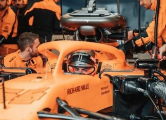 Test F1 Barcellona 2020 live