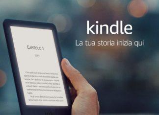 Kindle con luce frontale integrata al MINIMO STORICO su Amazon