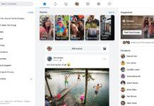 Nuova interfaccia Facebook Marzo 2020