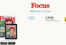 Offerta abbonamento Focus
