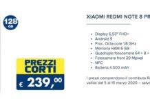 Redmi Note 8 Pro offerta Esselunga