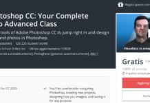 Corso Adobe Photoshop CC GRATIS su Udemy
