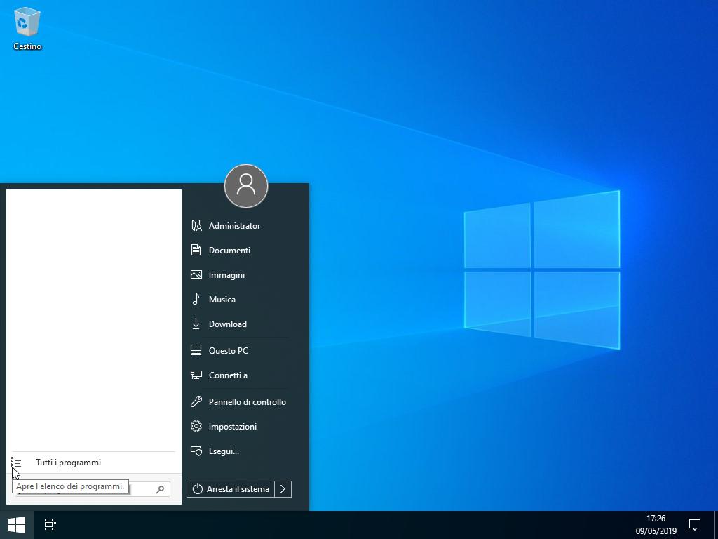 Windows 10 Pro – Lite Version per PC vecchi