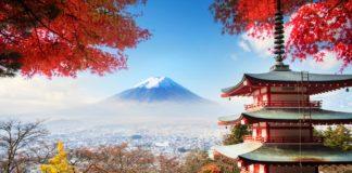 panoramica monte fuji