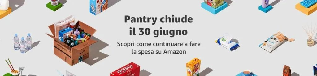 Amazon Pantry CHiude