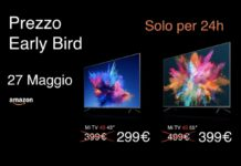"TV XIAOMI da 55"" e 43"" in sconto su Amazon"