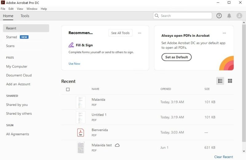 Adobe Acrobat Pro per Mac download gratis italiano