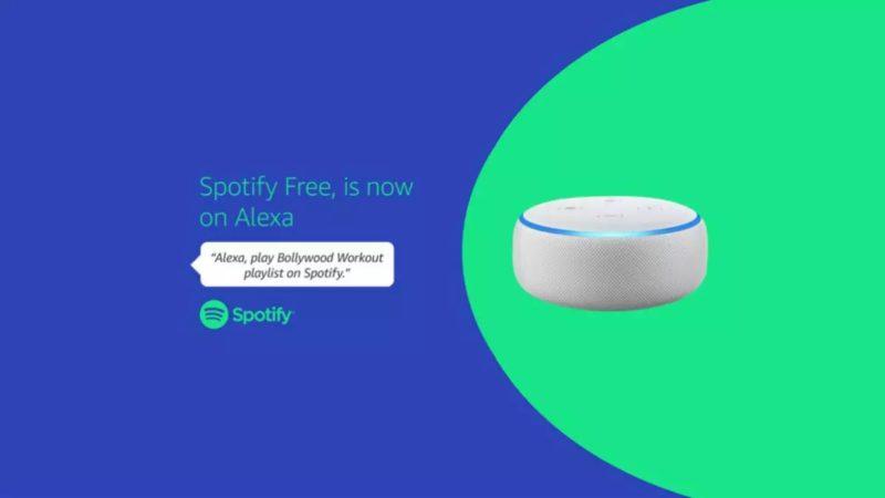 Alexa Spotify gratis