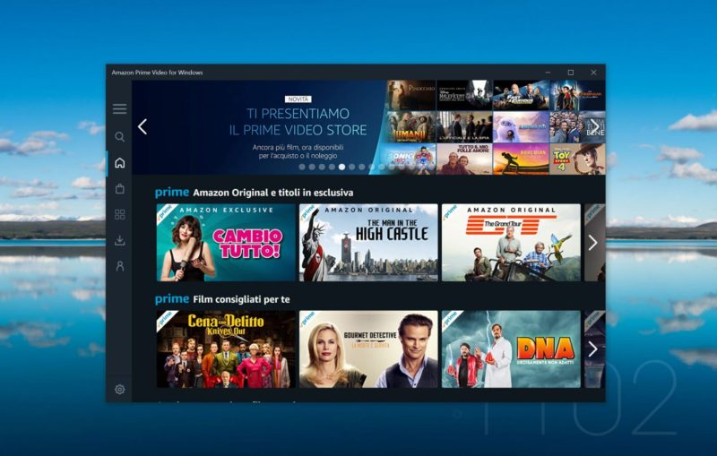 Amazon Prime Video per Windows 10