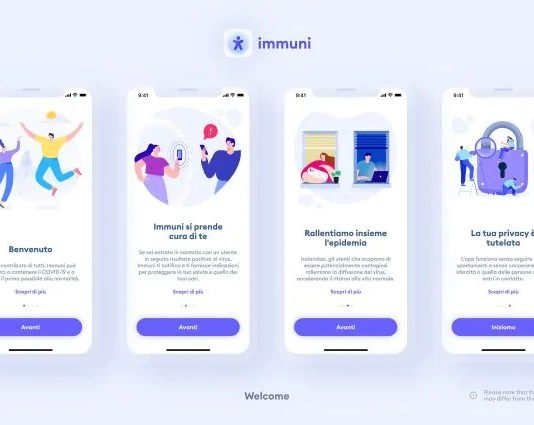 App Immuni è disponibile al download su Android e iOS