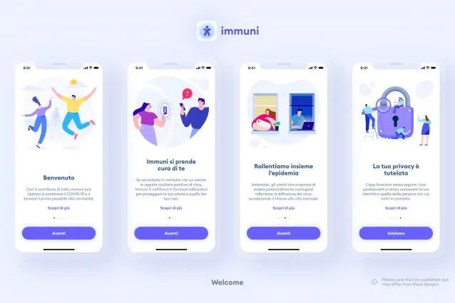 App Immuni è disponibile al download su Android e iOS