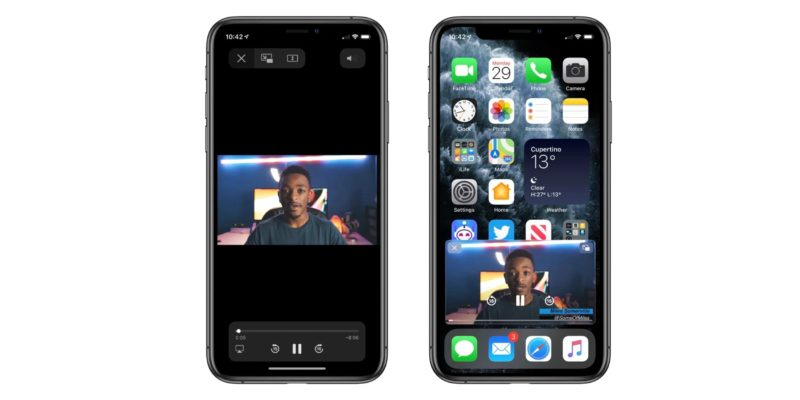 Picture-in-Picture iPhone