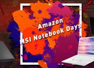 "Amazon ""MSI Notebook Days"""
