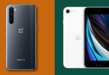 Confronto tra OnePlus Nord e iPhone SE