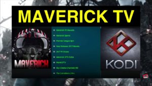 Maverick TV KODI Add-On