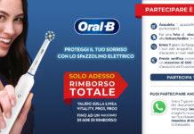 Oral-B rimborso 60 euro spazzolino elettrico Amazon