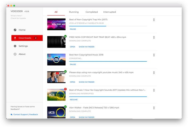 Scarica da YouTube su PC, Mac e Android con Videoder