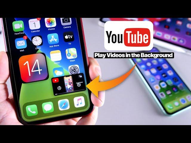 iPhone YouTube background