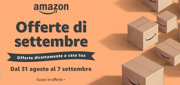 Amazon Offerte Settembre