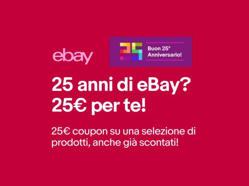 Coupon eBay 25 euro