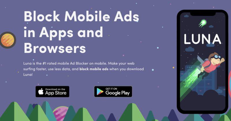 Luna VPN AdBlocker iPhone, iPod, iPad
