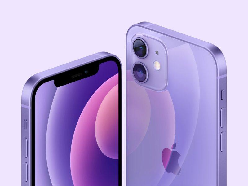 Da oggi iPhone 12 è disponibile anche nel colore VIOLA