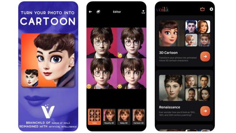 Voilà, ecco l'app che ti trasforma in un Personaggio dei Cartoni Animati Disney