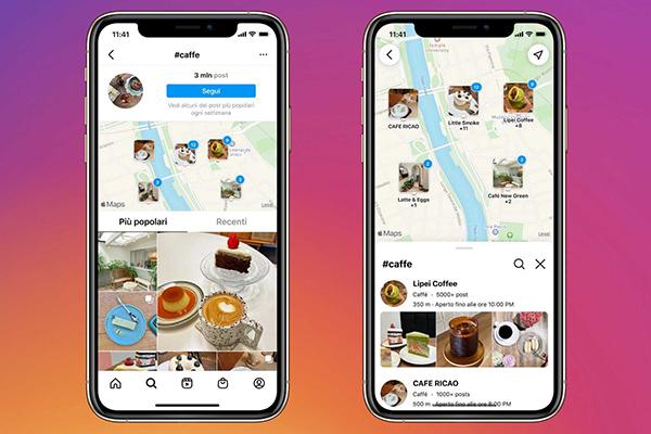 """Instagram """"Cerca sulla Mappa"""": come trovare luoghi d'interesse vicino a te"""